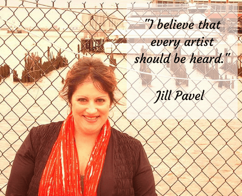 Jill Pavel | Uplifting Indie Artists in an Epic Way - dHarmic Evolution Podcast