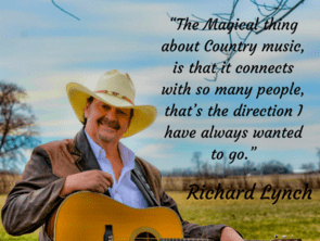Richard Lynch | Bringing back traditional country with his own style! - dHarmic Evolution Podcast