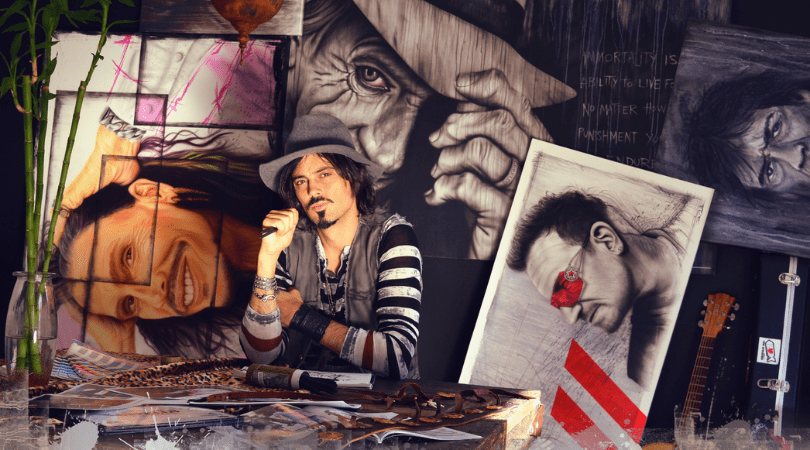 Rick Caballo Creative Artist With An Eye For Branding And Marketing - dHarmic Evolution Podcast